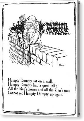 Humpty Dumpty, 1913 Canvas Print by Granger