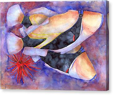 Humuhumunukunukuapuaa Canvas Print by Pauline Jacobson
