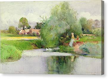 Hunningham  Canvas Print by Thomas Mackay