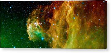 Hunter Constellation Canvas Print by Sebastian Musial