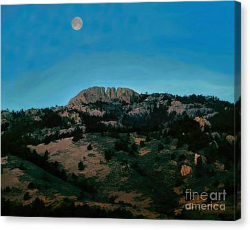 Hunter's Moon Canvas Print by Jon Burch Photography