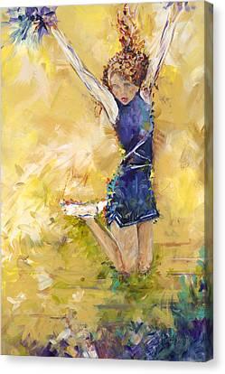 Hurrah Canvas Print by Karen Ahuja