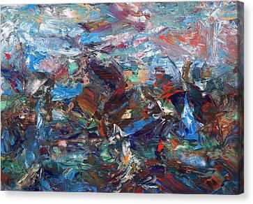 Hurricane Canvas Print by James W Johnson