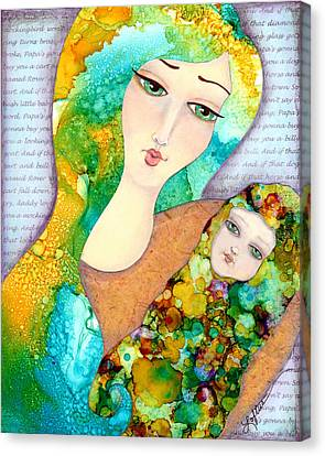 Hush Little Baby Canvas Print by Joann Loftus