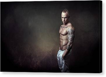 Hushed Canvas Print by Marcin and Dawid Witukiewicz