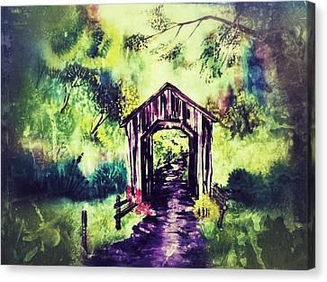 Hut D1 Canvas Print by Sumit Jain