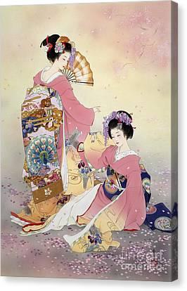 Hutari Mai Canvas Print by Haruyo Morita