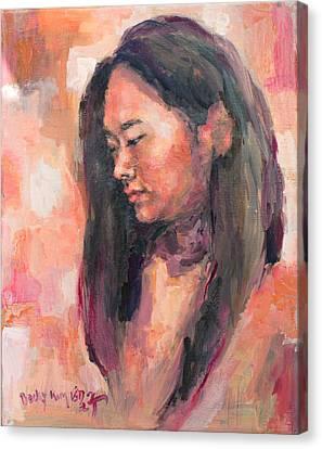 Hwajin Canvas Print by Becky Kim