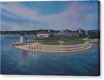 Hyannis Port Cape Cod Canvas Print by David P Zippi