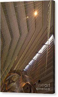 Hyatt Regency Hotel Embarcadero San Francisco California Dsc1970 Canvas Print by Wingsdomain Art and Photography