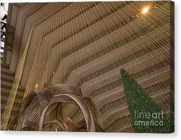 Hyatt Regency Hotel Embarcadero San Francisco California Dsc1974 Canvas Print by Wingsdomain Art and Photography