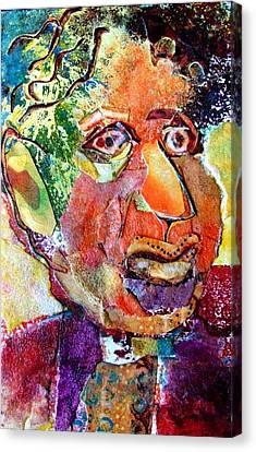 Hymie Canvas Print by Diane Fine