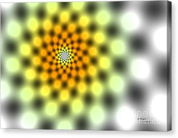 Hypnotic Canvas Print by Peter Clemence