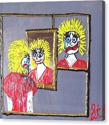 I Am Bipolar 2 Canvas Print by Lisa Piper