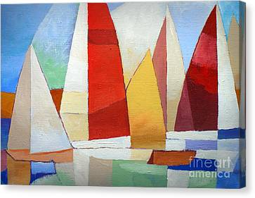 I Am Sailing Canvas Print by Lutz Baar