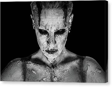 I Am Your Queen Canvas Print by Marco De Waal