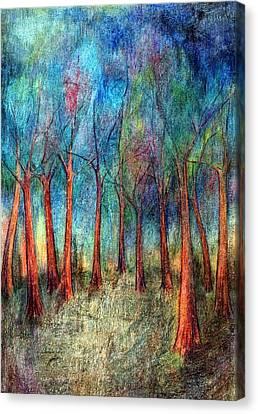 I Arose Morning  Canvas Print by Wojtek Kowalski