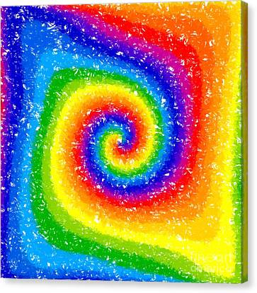 I Can See A Rainbow Canvas Print by Chris Butler