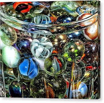 I Found Your Marbles Canvas Print by Camille Lopez