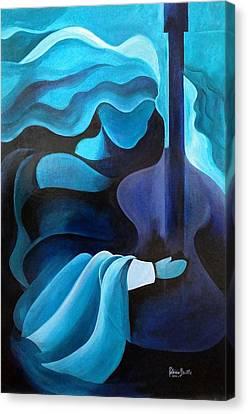 I Hear Music In The Air Canvas Print by Patricia Brintle