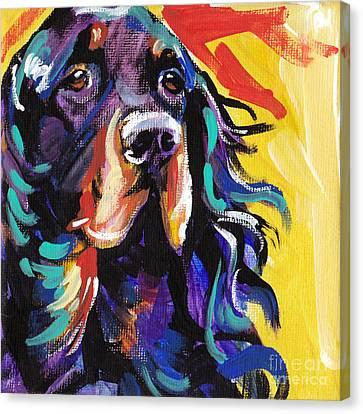 I Love Gordon Canvas Print by Lea S