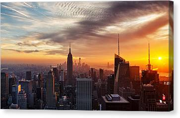 I Love New York Canvas Print by Maico Presente
