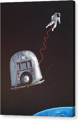 I Need Space Canvas Print by Jeffrey Bess