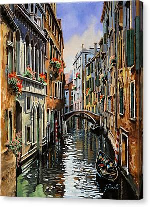 I Pali Rossi Canvas Print by Guido Borelli