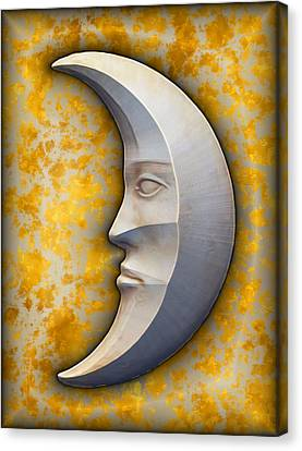 I See The Moon 1 Canvas Print by Wendy J St Christopher