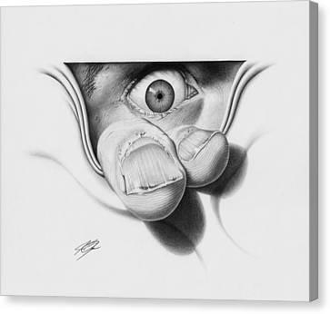 I See You Canvas Print by Joe Burgess
