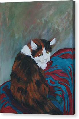 I Want My Lap Canvas Print by Gail Daley