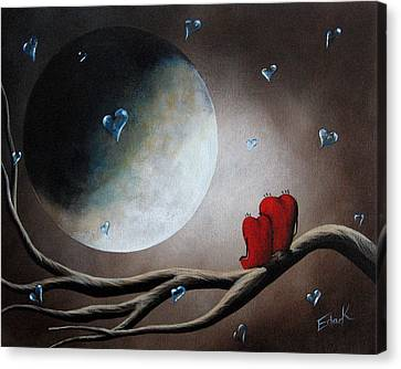 I Will Always Be Beside You By Shawna Erback Canvas Print by Shawna Erback