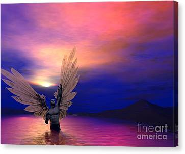 I Will Rise Again Canvas Print by Sipo Liimatainen