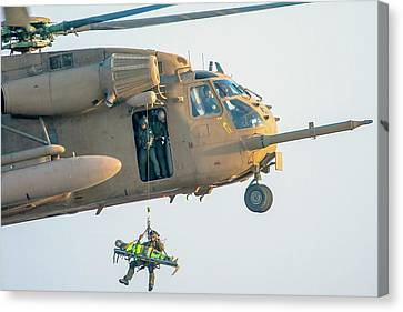 Iaf Sikorsky Ch-53 Helicopter Canvas Print by Photostock-israel