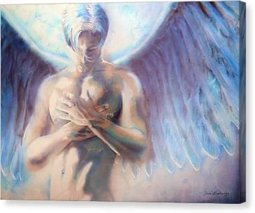 Icarus Canvas Print by Jose Espinoza
