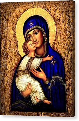 Icon Madonna Canvas Print by Ananda Vdovic