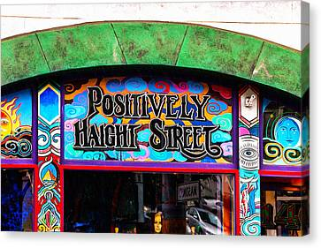 Iconic Haight-ashbury Canvas Print by Art Block Collections