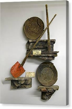 Idaho Territory Gold Miner's Tools Canvas Print by Daniel Hagerman