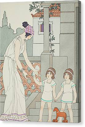 Identical Twins Canvas Print by Joseph Kuhn-Regnier