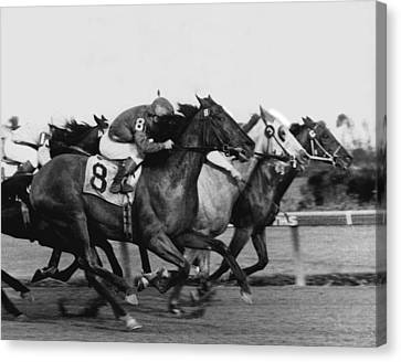 Idler Horse Racing Vintage Canvas Print by Retro Images Archive