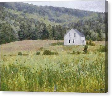 Idyllic Isolation Canvas Print by Jeff Kolker
