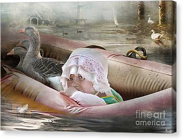 If I Could Save Em All Canvas Print by Adelita Rog