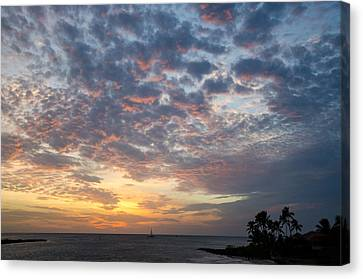 If Only Every Day Ended Like This Canvas Print by Margaret Pitcher