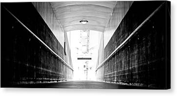 If These Walls Could Talk Canvas Print by Andrew Raby