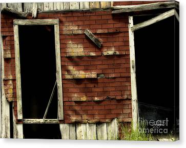 If Walls Could Talk Canvas Print by Cris Hayes