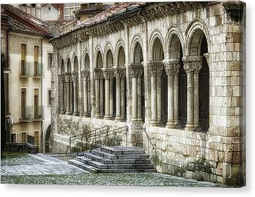 Iglesia De San Millan Canvas Print by Joan Carroll