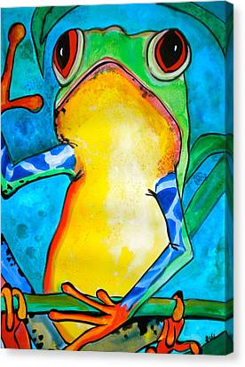 I'll Have The Fly Canvas Print by Debi Starr