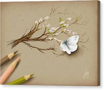 Illusion Canvas Print by Veronica Minozzi