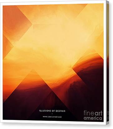 Illusions Of Despair Canvas Print by Lonnie Christopher