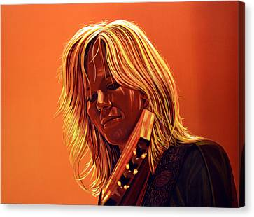 Ilse Delange Painting Canvas Print by Paul Meijering